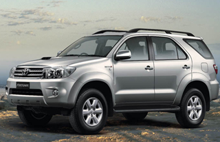 fortuner hire bangalore