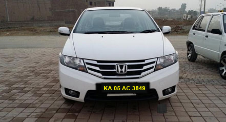 Honda City  Self Drive Car Hire in Bangalore