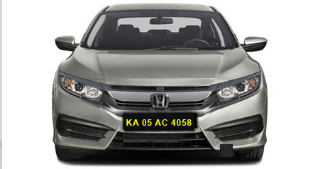 Honda Civic Self Drive Car Hire in Bangalore