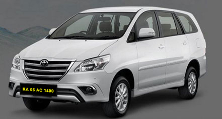 Innova Self Drive Car Hire in Bangalore