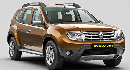 Duster Self Drive Car Hire in Bangalore