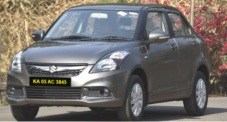 Swift Self Drive Car Hire in Bangalore